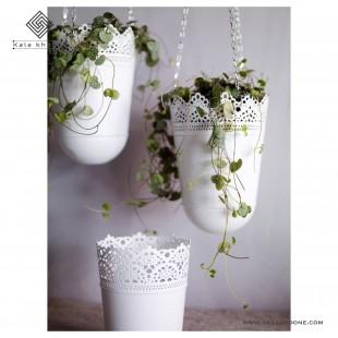 گلدان آویز ایکیا مدل Skurar