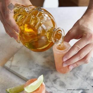 بطری جمجمه اسکلت