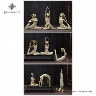 ست مجسمه های یوگا