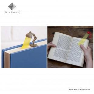 نشانه گر کتاب طرح چراغ مطالعه