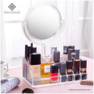 استند لوازم آرایش آینه دار