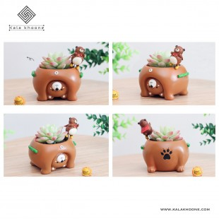 گلدان فانتزی حیوانات