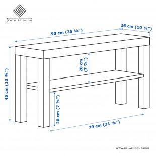 میز تلویزیون ایکیا مدل LACK