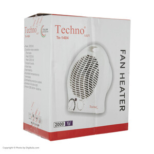 فن هیتر تکنو مدل Te-1404