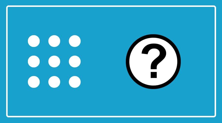 سوال معمای تصویری اتصال نقطه ها بدون برداشتن قلم