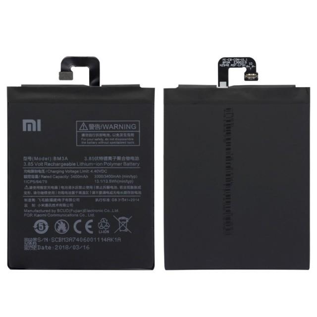 باتری bm3a می نوت 3 - xiaomi battery bm3a mi note 3