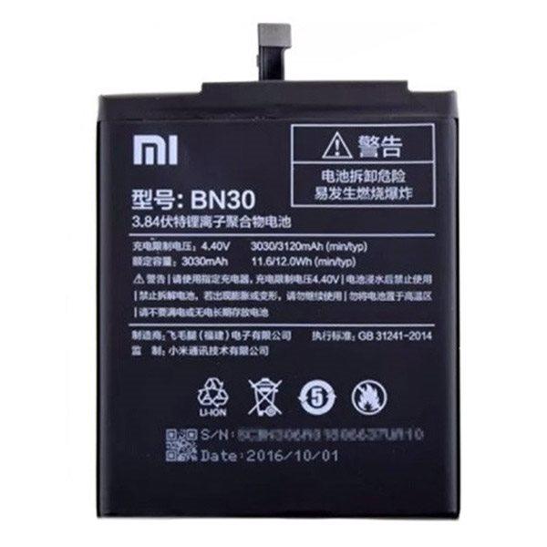 باتری bn30 ردمی 4آ - xiaomi battery bn30 redmi 4a