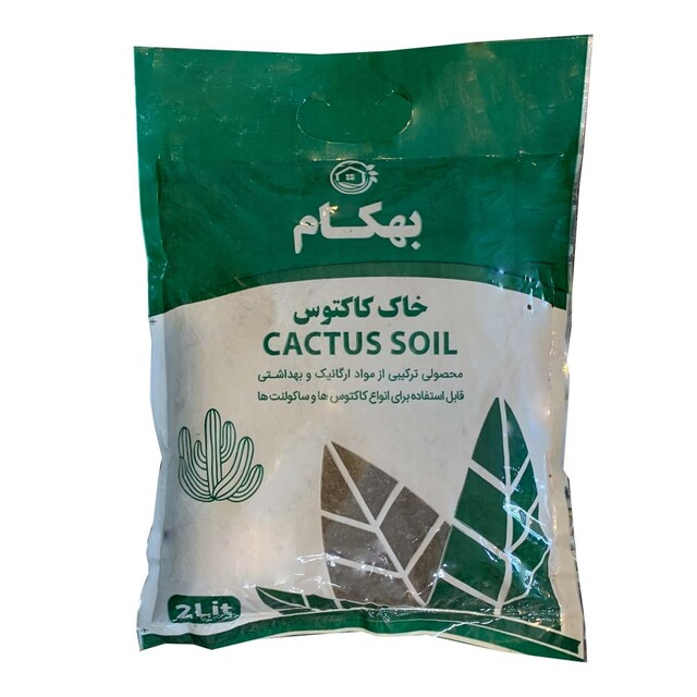 خاک کاکتوس بهکام کد Beh0202 وزن 750 گرم
