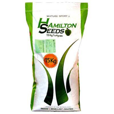 بذر چمن اسپرت II همیلتون 5 تخم هلند کیسه 15 کیلویی