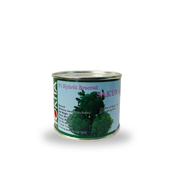 بذر کلم بروکلی ساکورا TOKITA ژاپن قوطی  وزن 100 گرم
