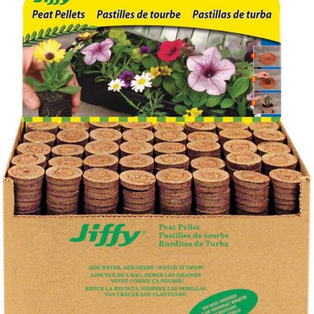 گلدان فشرده JIffy pelete  هزار عددی