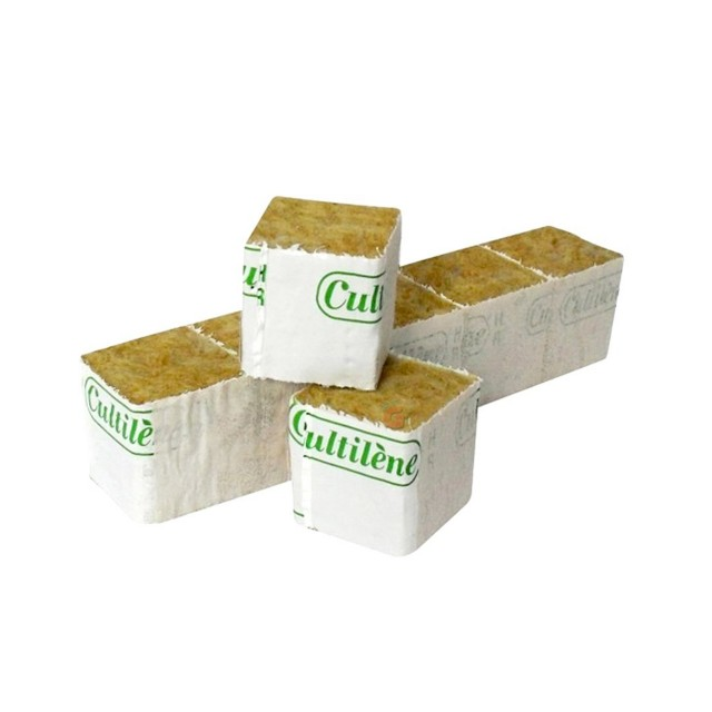 راگفول پشم سنگ Culltilene سایز 4x4 بسته 50 عددی - مناسب بذر کاری