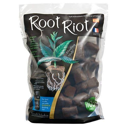ویول اسفنجی Root Riot پک 100 تایی - (ریشه دهی سریعتر و قویتر)