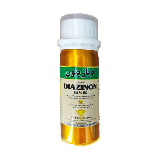 سم حشره کش دیازینون کیمیا گوهر - 100 میلی لیتر