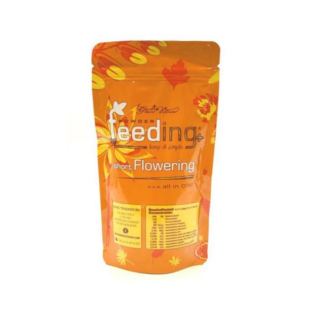 کود گلدهی Feeding مدل Short Flowering  بسته 125 گرمی - گیاه سبز تر و مقاوم تر