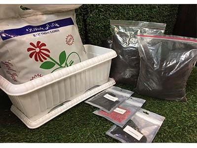 مجموعه آماده کاشت بذر سبزی