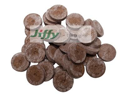 گلدان فشرده Jiffy pellets  صد عددی