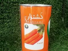 هویج کشتزار قوطی 500گرمی