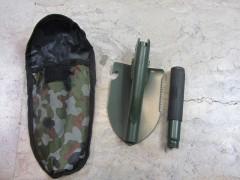بیلچه نظامی و کوهنوردی دومنظوره با کیف