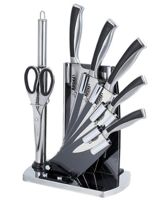 سرویس کارد آشپزخانه 8 پارچه عرشیا مدل K270-1264