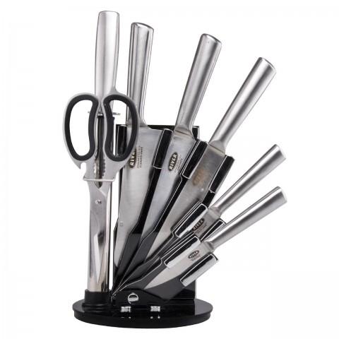 سرویس چاقو آشپزخانه 8 پارچه ریور کد 8436