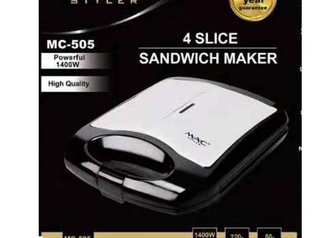 ساندویچ ساز و گریل مک استایلر مدل MAC-505