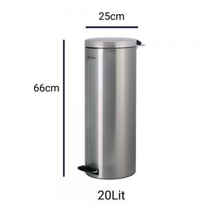 سطل زباله 20 لیتری پدالدار براسیانا اورانوس