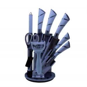 سرویس چاقو آشپزخانه 9 پارچه فلورنس