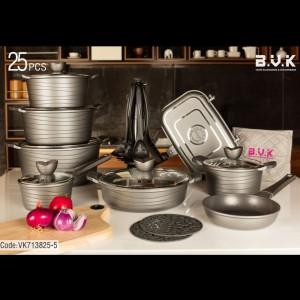 سرویس پخت و پز 25 پارچه بی.وی.کی مدل 713825