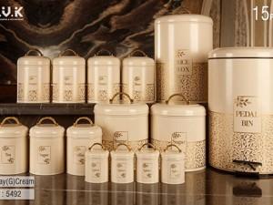 سرویس آشپزخانه 15 پارچه بی.وی.کی مدل Bonsay