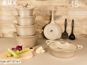 سرویس پخت و پز 15 پارچه بی.وی.کی مدل 713714