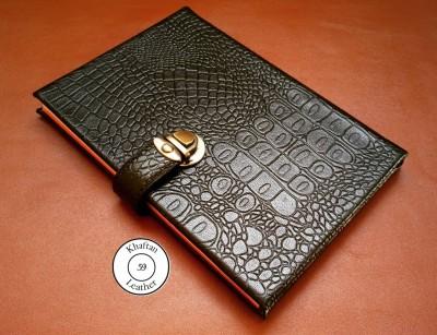 دفتر خاطرات جلد سخت تمام چرم طبیعی
