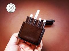 کیف سیگار چرمی