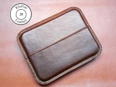 کیف سیگار چرم طبیعی ظرفیت هشت نخ دارای قفل