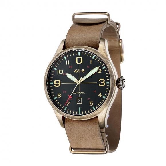 ساعت مچی عقربه ای مردانه AVI-8 مدل AV-4042-02