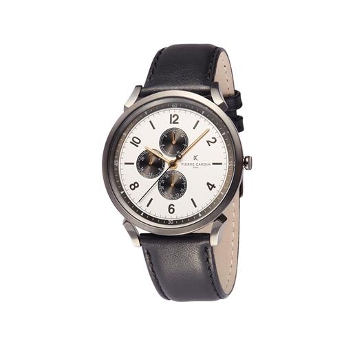 ساعت مچی عقربه ای مردانه کلاسیک برند پیرکاردین مدل CPI.2040
