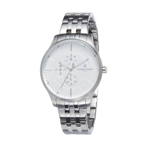 ساعت مچی عقربه ای مردانه کلاسیک برند پیرکاردین مدل PC902731F104