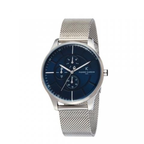 ساعت مچی عقربه ای مردانه کلاسیک برند پیرکاردین مدل PC902731F121