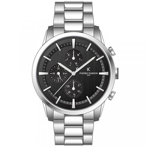 ساعت مچی عقربه ای مردانه کلاسیک برند پیرکاردین مدل A.PC902741F109