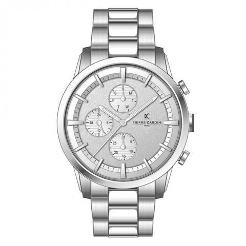 ساعت مچی عقربه ای مردانه کلاسیک برند پیرکاردین مدل A.PC902741F108