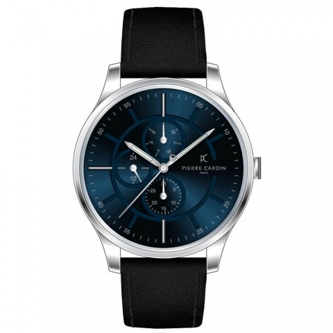 ساعت مچی عقربه ای مردانه کلاسیک برند پیرکاردین مدل A.PC902731F101