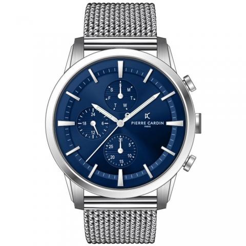 ساعت مچی عقربه ای مردانه کلاسیک برند پیرکاردین مدل A.PC902741F105