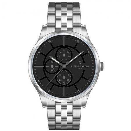 ساعت مچی عقربه ای مردانه کلاسیک برند پیرکاردین مدل A.PC902731F108