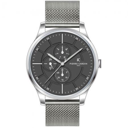 ساعت مچی عقربه ای مردانه کلاسیک برند پیرکاردین مدل A.PC902731F107