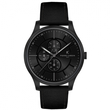 ساعت مچی عقربه ای مردانه کلاسیک برند پیرکاردین مدل A.PC902731F103