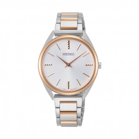 ساعت مچی عقربه ای زنانه کلاسیک برند سیکو مدل SWR034P1
