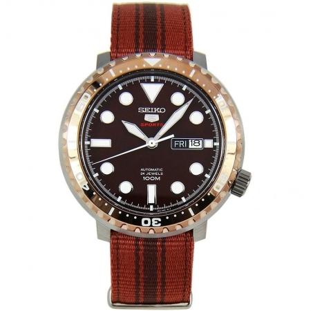 ساعت مچی عقربه ای مردانه اسپرت برند سیکو مدل SRPC68K1