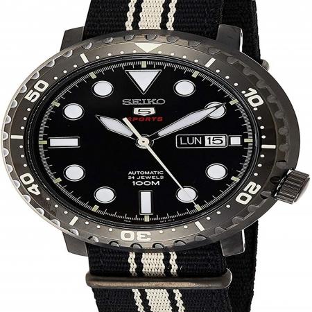 ساعت مچی عقربه ای مردانه اسپرت برند سیکو مدل SRPC67K1