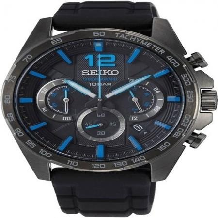 ساعت مچی عقربه ای مردانه اسپرت برند سیکو مدل SSB353P1