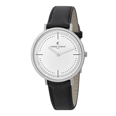 ساعت مچی عقربه ای مردانه کلاسیک برند پیرکاردین مدل CBV.1025